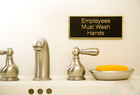 sink_with_sign