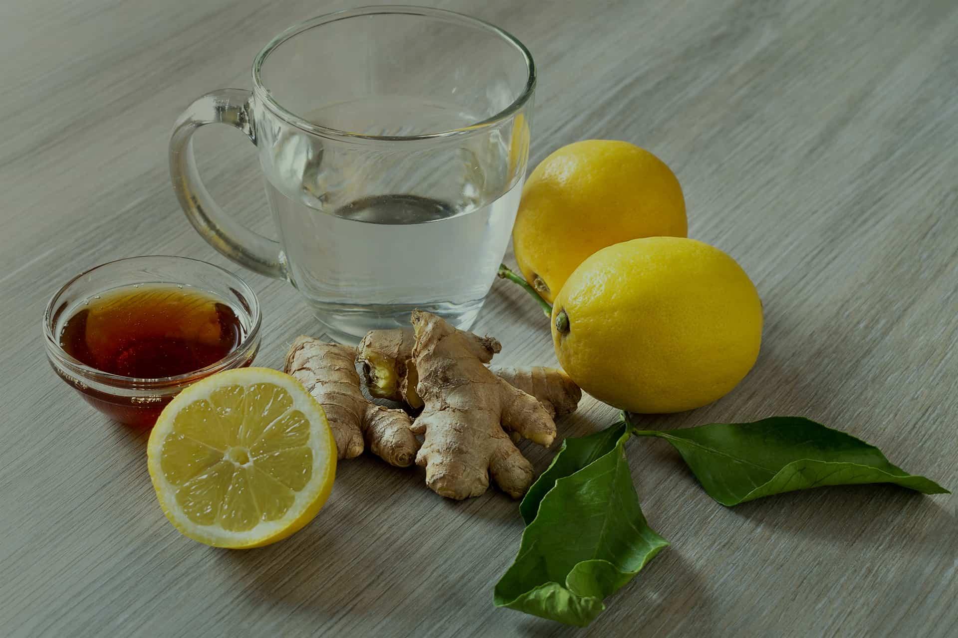 مشروب الزنجبيل والليمون والعسل