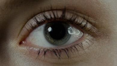 صورة حجم بؤبؤ العين: على ماذا يدل