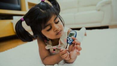 السكري عند الاطفال