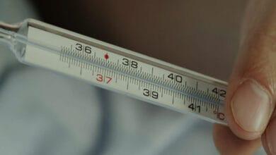 هل درجة حرارة الجسم 38 طبيعي