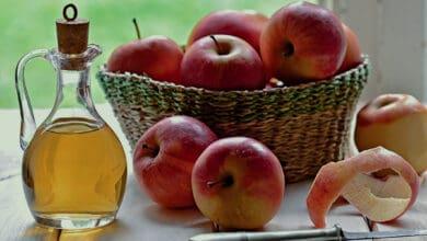 خل التفاح للنقرس